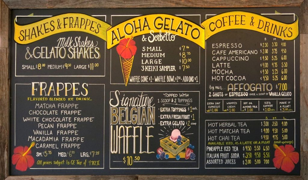 Gelato travels: Honolulu, Hawaii