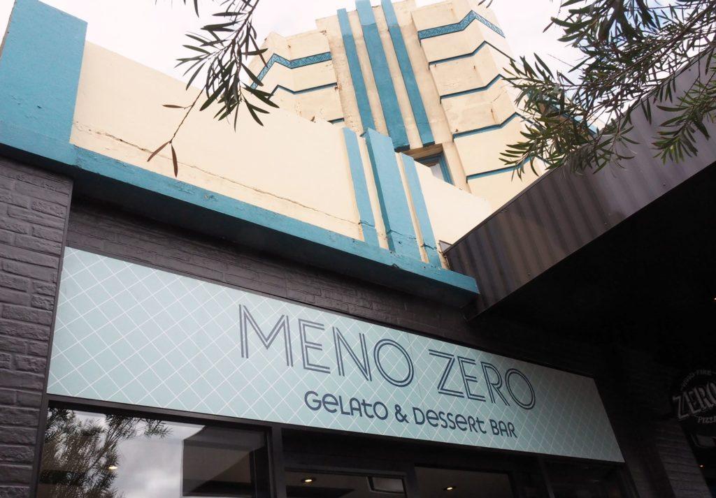 The building housing Meno Zero Dromana.