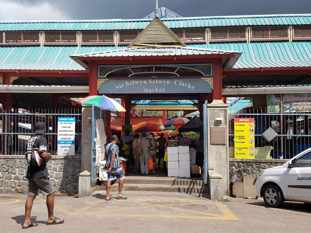 Central market, Seychelles